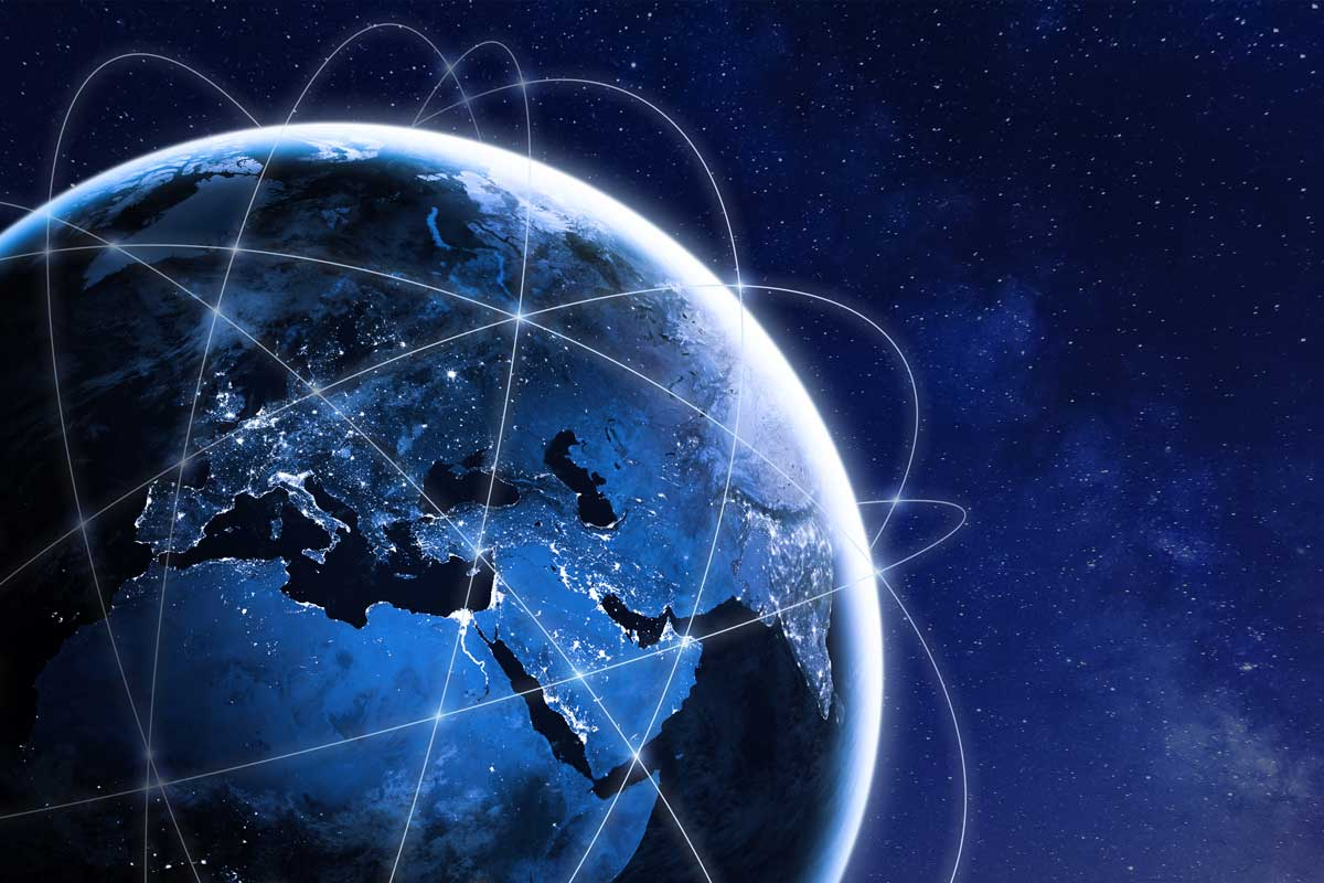 connected globe